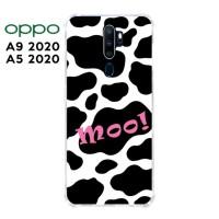Casing OPPO A9 2020 / A5 2020 Softcase Anticrack Motif Sapi Lucu 04