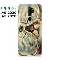 Casing OPPO A9 2020 / A5 2020 Softcase Anticrack Motif Kucing Lucu 19
