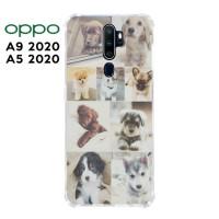 Casing OPPO A9 2020 / A5 2020 Softcase Anticrack Motif Anjing Lucu 24