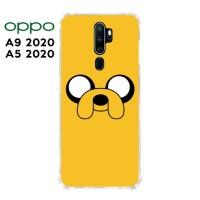 Casing OPPO A9 2020 / A5 2020 Softcase Anticrack Motif Lucu Jack