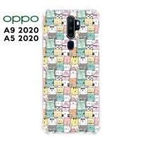 Casing OPPO A9 2020 / A5 2020 Softcase Anticrack Motif Kucing Lucu 29