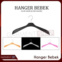 Hanger Bebek Jas Tebal / Gantungan Baju Pakaian Laundry Distro Butik