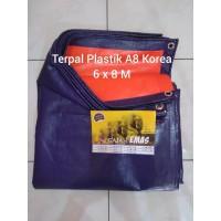 Terpal Plastik A8 Korea Ukuran 6 x 8 M