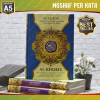 Al Quran A5 Al Khobir Transliterasi Terjemah Perkata - AlQuran Perkata
