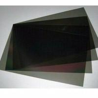 plastik polarizer NEGATIF LCD - speedometer jam digital dll