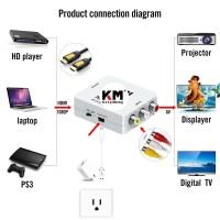 HDMI TO AV RCA Converter Adapter Box