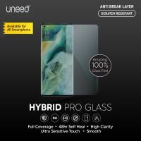 Uneed Hybrid Pro Anti Gores Anti Break Samsung Galaxy A7 2018