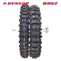 PAKET BAN DUNLOP 120/90-18 DAN 80/100-21 D952 GEOMAX (TRAIL)
