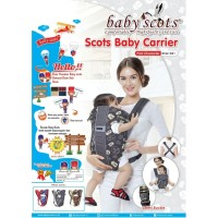 Gendongan Ransel Baby Scots Scoot Scot Bayi Baby Family BSG 1301