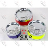 Asbak Putar Stainless Warna Size M / Round Ashtray Color Rotary