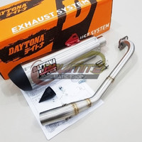 Knalpot Racing Daytona Slash GP Taper FREE DB Killer Yamaha NMAX