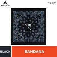 Eiger Union Paislay 1.0 Bandana - Black
