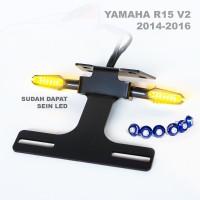 Tail tidy Yamaha R15 V2 thn 2014-2016 fender eliminator dudukan plat