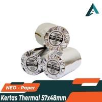 KERTAS STRUK KERTAS PRINTER THERMAL 57 x 48 MM UNTUK PRINTER BLUETOOTH