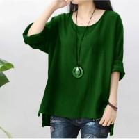 Blouse Irene hijau [Baju Atasan Wanita 0140] TGQ