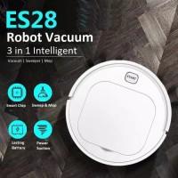 Robot Vacuum Cleaner Lantai ES23 ES28 Pel Lantai Otomatis