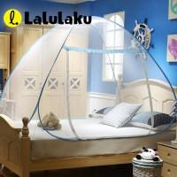 Lalulaku Kelambu Tempat Tidur Anti Nyamuk Kanopi 180 x 200