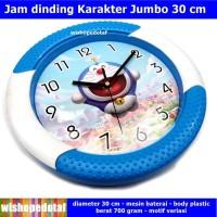 Jam Dekorasi JUMBO 30 CM Dinding Karakter Anak doraemon