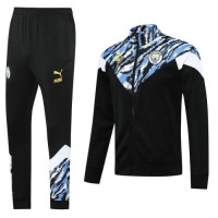 Jaket Bola Sweater Midlayer Tracksuit Training MANCHESTER CiTY HOME RE