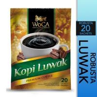 WoCA Kopi Bubuk Luwak Premium 20 Sachets