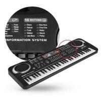 Mainan Edukasi Electronic Keyboard 61 Keys (Kiya Baby Store)