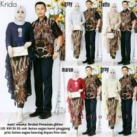 Baju batik couple sarimbit kebaya batik gamis batik setelan wanita