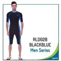 Baju Renang Pria Premium Sporte RLD02B - Biru, S