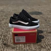 Sepatu Vans Oldskool Mono Black White Unisex Premium BNIB Quality