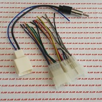 Soket / Socket Audio+Antena Tape/Headunit PnP Toyota Daihatsu