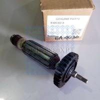 Armature Angker Rotor Makita GA 4030 4034 GA4030 Original 510182-5
