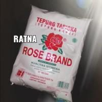 TEPUNG TAPIOKA / KANJI ROSE BRAND 500gr 1 Bal