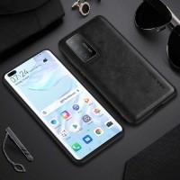 Leather Case Huawei P40 Pro X-LEVEL Premium Case Original - Black