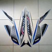 stiker striping motor mio j sporty 2014 putih biru