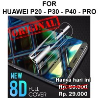 Huawei P20 - P30 - P40 - Pro full layar not tempered glass HYDROGEL