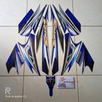 stiker striping motor yamaha scorpio Z 225 2008 biru