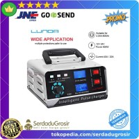 Charger Cas Aki Mobil Motor Automatic Repair 400W 12V/24V 400Ah + LCD