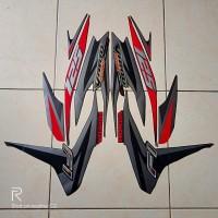 stiker striping motor vario techno 125 fi 2013 hitam-merah