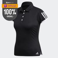 Baju Tennis Wanita Adidas Original Wmns Club 3-stripes Polo Shirt Bla