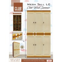 lemari plastik club Mega Tall LC