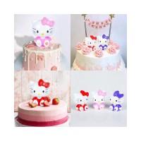 Boneka Kartun Hello Kitty untuk Dekorasi Pesta Ulang Tahun Pernikahan
