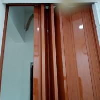 FOLDINGDOR PVC/PEMBATAS RUANGAN PVC