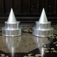 Cetakan tumpeng nasi kuning susun mini (diameter 10cm)