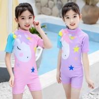 Baju Renang Anak Perempuan SwimSuit Unicorn