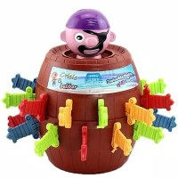 Mainan Anak Dewasa Jumping PIrate Game Pirates Roulette Family Game