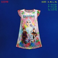 (DS048) Daster Anak Frozen Beautiful Dream (Usia 5-9 Tahun)