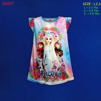 (DK037) Daster Anak Frozen Beautiful Dream Usia 2-5 Tahun