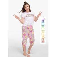 Original Justice Piyama Baju Tidur Anak Perempuan Fruit Logo Pajama