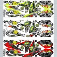 Sticker Striping Variasi Racing New Vixion Lighting 2013-2017 / NVL