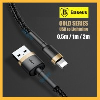 Baseus Lightning Cable Kabel Fast Charger Apple iPhone iPad USB Type C