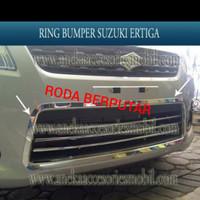 Ring List Lis Grill Bumper Bemper Bamper Chrome Suzuki Ertiga